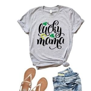 ⭐️NWT Lucky Mama T-Shirt Boutique⭐️